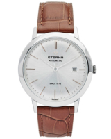 Eternity Automatic Silver/Brown Silver/Brown Leather 40mm