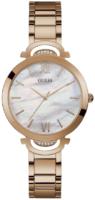 Guess Opal Naisten kello W1090L2 Valkoinen/Punakultasävyinen Ø36 mm