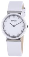 Bering Ceramic Naisten kello 10729-854 Valkoinen/Nahka Ø29 mm