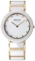 Bering Ceramic Naisten kello 11435-751 Valkoinen/Kullansävytetty