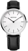 Bering Classic 13738-404 Valkoinen/Nahka Ø38 mm