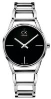 Calvin Klein Stately Naisten kello K3G23121 Musta/Teräs Ø34 mm