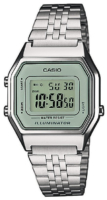 Casio Casio Collection Naisten kello LA680WEA-7EF LCD/Teräs