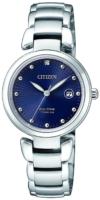 Citizen Titanium Naisten kello EW2500-88L Sininen/Titaani Ø29 mm
