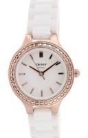 DKNY Ceramic Naisten kello NY2251 Valkoinen/Keraaminen Ø28 mm