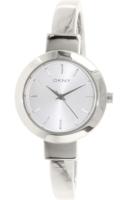 DKNY Bangle Naisten kello NY2349 Valkoinen/Teräs Ø28 mm