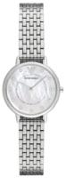 Emporio Armani Dress Naisten kello AR2511 Valkoinen/Teräs Ø28 mm