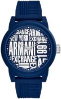 Emporio Armani Exchange Atlc Miesten kello AX1444 Sininen/Kumi Ø46 mm