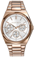 Esprit Sport Naisten kello ES108962003 Hopea/Punakultasävyinen Ø36