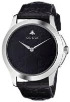 Gucci G-Timeless YA1264031 Musta/Nahka Ø38 mm