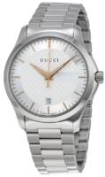Gucci G-Timeless YA126442 Hopea/Teräs Ø38 mm