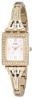 Guess Naisten kello U0430L2 Valkoinen/Kullansävytetty teräs