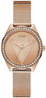 Guess Tri Glitz Naisten kello W1142L4 Punakultaa/Punakultasävyinen