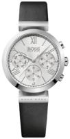 Hugo Boss Chronograph Naisten kello 1502395 Hopea/Nahka Ø34 mm