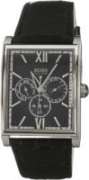 Hugo Boss Chronograph Miesten kello 1512401 Musta/Nahka