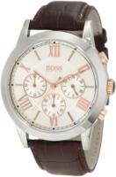 Hugo Boss Chronograph Miesten kello 1512728 Hopea/Nahka Ø43 mm