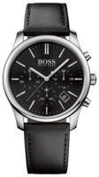 Hugo Boss Time One Miesten kello 1513430 Musta/Nahka Ø42 mm
