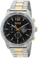 Hugo Boss Chronograph Miesten kello 1513529 Musta/Kullansävytetty