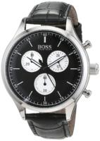 Hugo Boss Chronograph Miesten kello 1513543 Musta/Nahka Ø42 mm