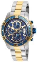 Invicta Pro Diver Miesten kello 22415 Sininen/Kullansävytetty teräs
