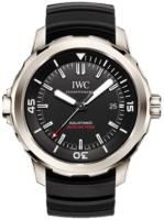 IWC Aquatimer Miesten kello IW329101 Musta/Kumi Ø42 mm