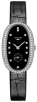 Longines Symphonette Naisten kello L2.307.0.57.0 Musta/Nahka Ø25 mm