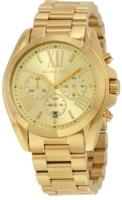 Michael Kors Bradshaw Naisten kello MK5605 Keltainen/Kullansävytetty