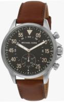 Michael Kors Smartwatch Miesten kello MKT4001 Musta/Nahka Ø45 mm