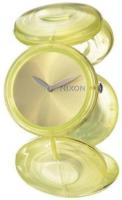 Nixon The Spree Naisten kello A097961-00 Keltainen/Muovi Ø33 mm