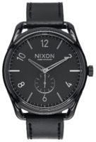 Nixon 99999 Miesten kello A465000-00 Musta/Nahka Ø45 mm