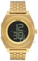 Nixon The Time Teller A948502-00 LCD/Kullansävytetty teräs Ø40 mm