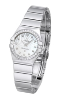 Omega Constellation Quartz 24mm Naisten kello 123.15.24.60.55.004