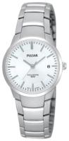 Pulsar Dress Naisten kello PH7129X1 Valkoinen/Titaani Ø26 mm