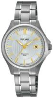 Pulsar Dress Naisten kello PH7435X1 Hopea/Titaani Ø30 mm