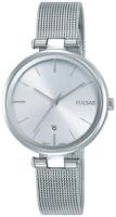 Pulsar Dress Naisten kello PH7461X1 Hopea/Teräs Ø29 mm