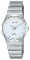 Pulsar Dress Naisten kello PH8175X1 Valkoinen/Teräs Ø28 mm