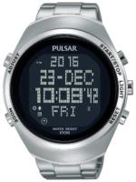 Pulsar Pulsar X Miesten kello PQ2055X1 LCD/Teräs Ø46 mm