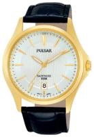 Pulsar Dress Miesten kello PS9386X1 Hopea/Nahka Ø41 mm