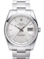 Rolex Perpetual Date Miesten kello 115200-0006 Hopea/Teräs Ø34 mm