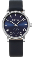 So & Co New York Madison Naisten kello 5093L.2 Sininen/Nahka Ø36