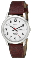 Timex Easy Reader Miesten kello T20041 Hopea/Nahka Ø35 mm