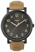 Timex Easy Reader T2N677D7 Musta/Nahka Ø42 mm