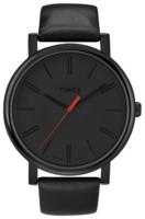 Timex Easy Reader Miesten kello T2N794 Musta/Nahka Ø42 mm