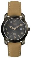 Timex Classic Elevated Miesten kello T2P133 Musta/Nahka Ø39 mm