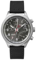 Timex Intelligent Miesten kello T2P509 Harmaa/Nahka Ø43 mm