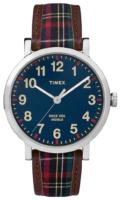 Timex 99999 TW2P69500 Sininen/Nahka Ø42 mm