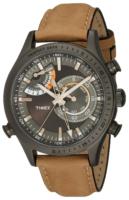 Timex Intelligent Miesten kello TW2P72500DH Harmaa/Nahka Ø46 mm
