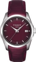 Tissot T-Trend Naisten kello T035.210.16.371.00 Punainen/Nahka Ø32 mm