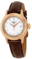 Tissot T-Classic Naisten kello T085.210.36.011.00 Valkoinen/Nahka
