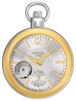 Tissot T-Pocket 1920 Mechanical T853.405.29.037.00 Hopea Ø49 mm